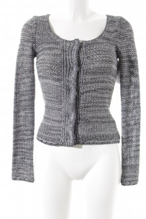 Saint Tropez Strick Cardigan meliert Casual-Look