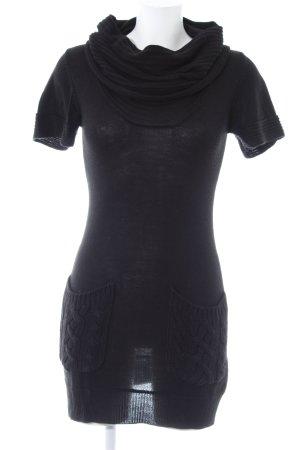 Saint Tropez Abito di maglia nero stile casual