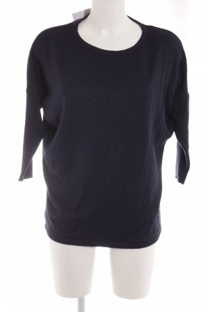 Saint Tropez Camisa tejida azul oscuro look casual