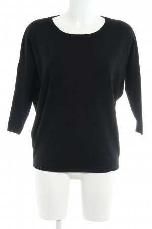 Saint Tropez Knitted Top black casual look