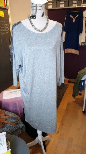 Saint Tropez Shirt Dress silver-colored viscose