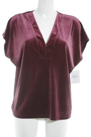 Saint Tropez T-Shirt purpur Casual-Look