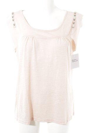 Saint Tropez T-Shirt rosé meliert Casual-Look