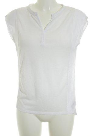Saint Tropez T-Shirt weiß Casual-Look