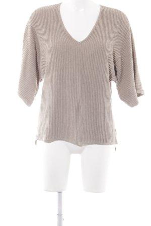 Saint Tropez V-Ausschnitt-Pullover beige Casual-Look