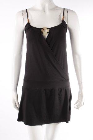Saix Trägerkleid schwarz