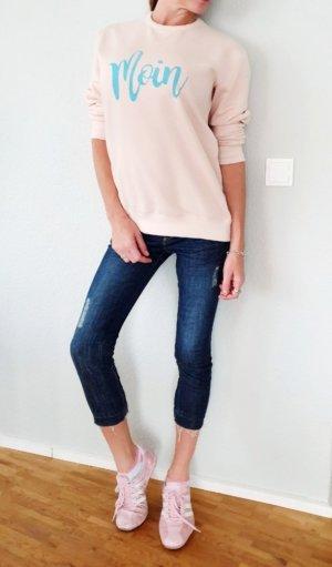 Saks Fifth Avenue Flip-Flop-Cut croped Girlfriend Jeans Hose