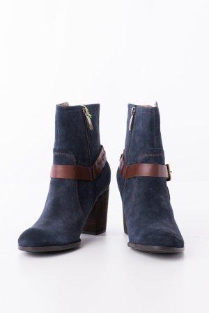 SALAMANDER - Ankle Boots Dunkelblau Veloursleder