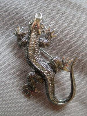 Salamander#Brosche#Modeschmuck