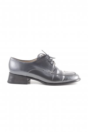 Salamander Richelieus Shoes light grey extravagant style