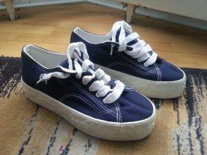 Salamander Schuhe, Größe 38, blau weiß