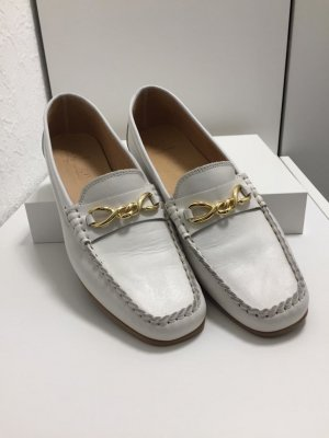 Salamander Slippers white-gold-colored