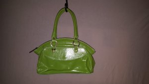 Carry Bag meadow green-grass green imitation leather