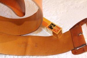 """sale-15.5.""""Mulberry"""" England, breiter Taillengürtel , 85, cognac"""