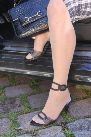 """"""" DIESEL""""-Sandalette-heel, Gr.40, fast neu! Leder"""