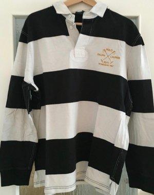 """sale-30.2. """"Ralph Lauren Polo"""" shirt, unisex, BW dick, bestickt Label"""