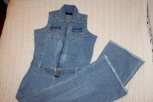 Jumpsuit-Jeansoverall, Gr.40, Vintage 70er Original !