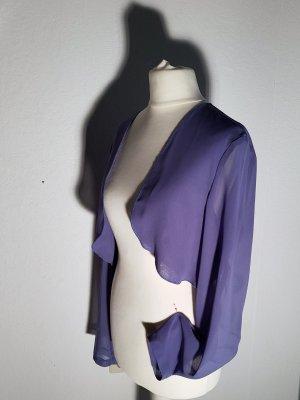 Swing Bolero slate-gray polyester