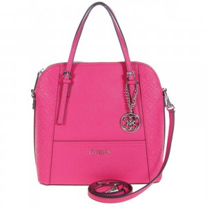 %SALE 50% GUESS DELANEY DOME SATCHEL PASSION