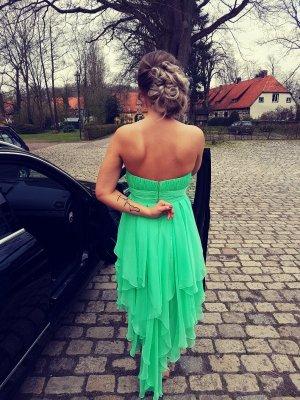Vestido de baile menta