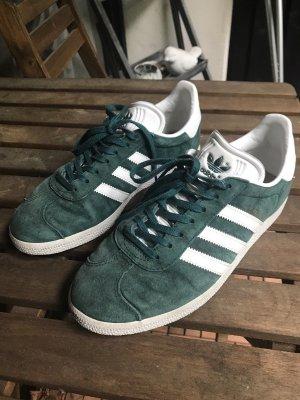%SALE% Adidas BB5253 Green White Gazelle Limited Sneakers UK 6 EUR 39 1/3