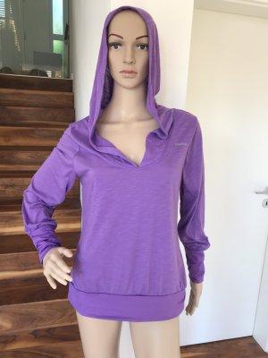 Reebok Blusa con capucha lila