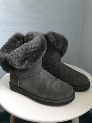 UGG Snow Boots grey-dark grey leather