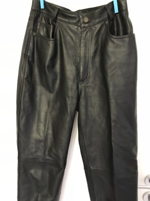 Joy Leather Trousers black