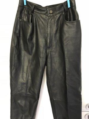 Joy Pantalone in pelle nero