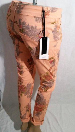 Sale! Apriko Jeans geblümt Skinny/Strech/Röhre Gr 38 Gr L