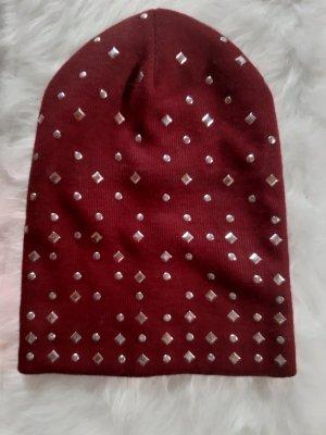 Asos Bonnet rouge carmin