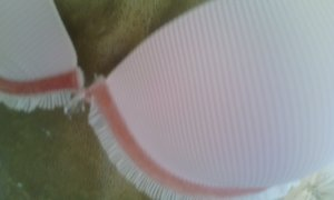 Set lingerie rosa chiaro-rosa antico