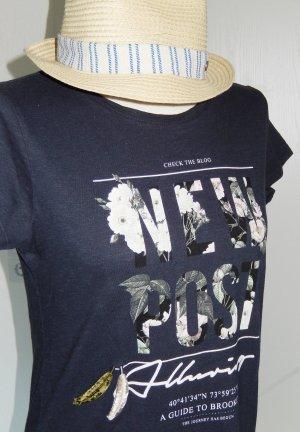 SALE bis 30.09.18!! Süßes Slub-Shirt mit Feder-Print