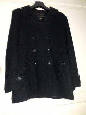 Louis Vuitton Caban Jacke aus schwarzer Wolle