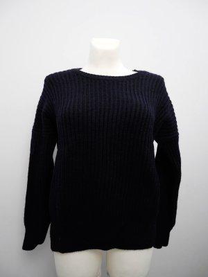 SALE! COS: Dicker warmer Pullover * Dunkelblau * 100% Wolle * L (38/40)