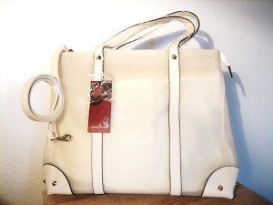 Carry Bag white-cream synthetic