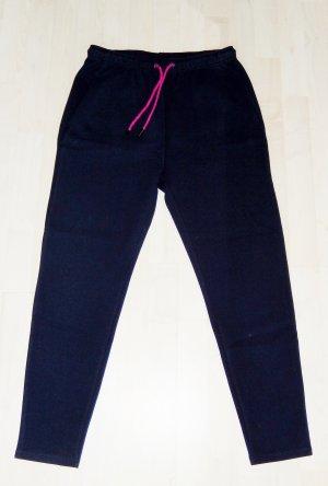 Zalando Pantalon de sport bleu foncé coton