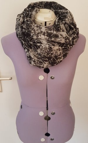 SALE Eleganter Schal von Pieces l schwarz grau l wie neu