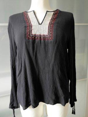 Esprit Blusa de túnica multicolor Algodón