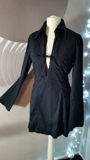 Esprit Blusa de túnica negro Algodón