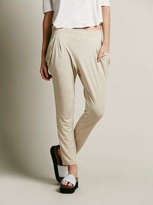 SALE Free People Drapey Pocket Hemp XS Boyfriend Hose chino harem zara style