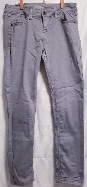 Takko Pantalone cinque tasche grigio chiaro
