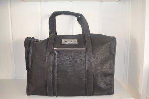 SALE % Handtasche Sporttasche Große Tasche Reisetasche Urlaubs Tasche Schwarz