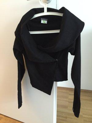 Sale! Jacke aus Baumwolle Kaethe Maerz, schwarz, Gr. 38