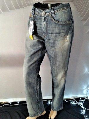 Killah Boyfriend jeans blauw Katoen