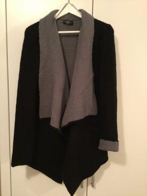 SALE *** Kuscheljacke schwarz-grau in Gr. 36/38