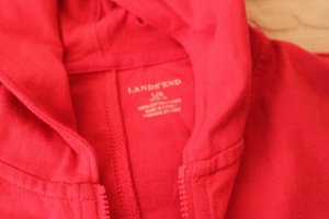 "Sale:""Landsend""-Kapuzen-shirt-kleid, Gr.L, Bestcondition! NP: 98,-"