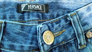 Sale! Leo Print  Jeans ittisre haly Gr 29 animal Print