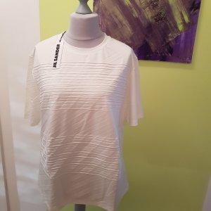 Sale Letzter Preis Jil Sander Designer Shirt Neu Ecru Gr.XL = 44