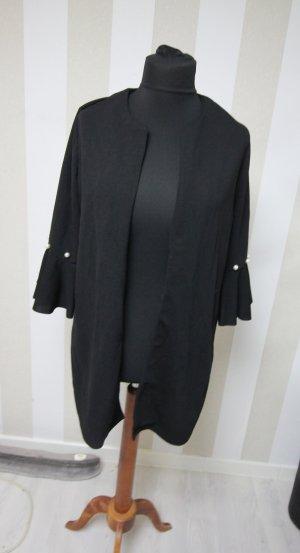 Long Jacket black-white
